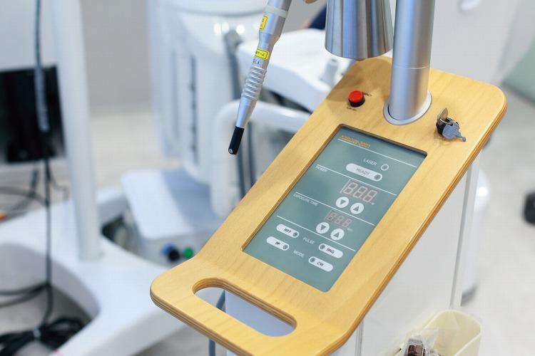 レーザー治療で様々な疾患に対応します。